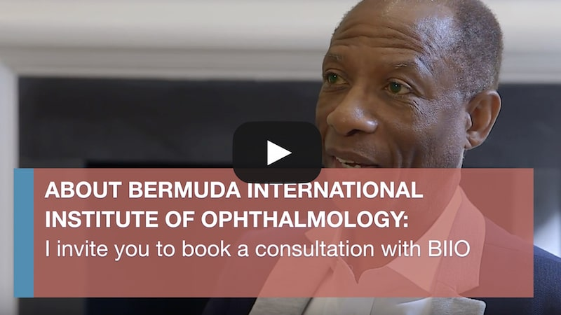 I invite you to book a consultation with Bermuda International Eye Institute