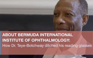 BIIO- how Dr. Teye Botchway ditched his reading glasses